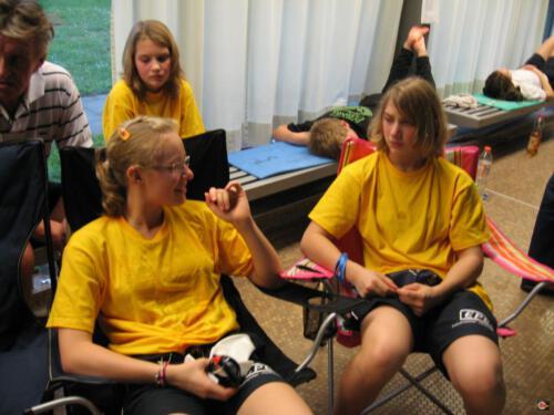 Anna, Christina und Lea